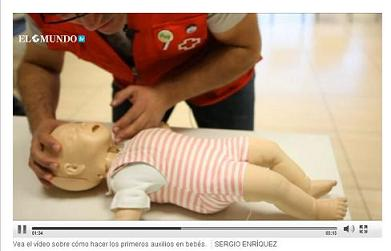 Asistencia inmediata para salvar a un bebé