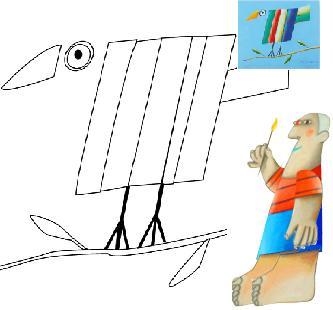 El arte de Mondrian y Gustavo Rosa