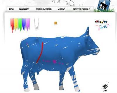 Restaurando vacas. Un paseo por Cowparade.