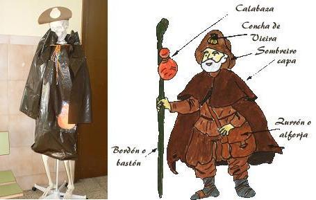 Como é o disfrace de peregrino?